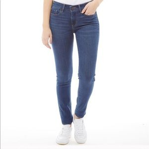 NEW 🔥 Levi 711 Indigo Wash Skinny Jeans